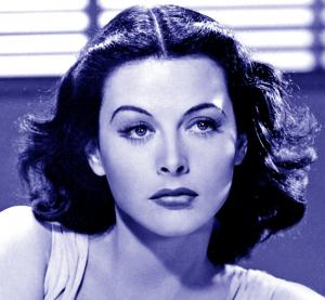 Hedy Lamar blue